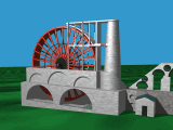 Laxey Wheel, 37kB